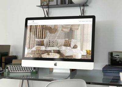 Diseño web textil
